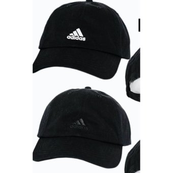 Cap A/D black ( black & white logo) set