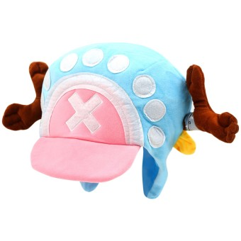 Cap City Unisex CapNime Fashion Cosplay Snapback Chopper Dots Hat(Pink/Blue)