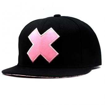 Cap City Unisex CapNime Snapback Tony Chopper X Hat Baseball Cap(Black/Pink) Price Philippines