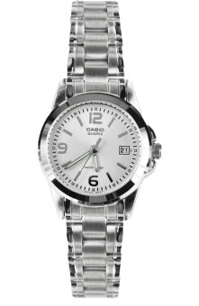 Casio Analog Women's Watch LTP-1215A-7ADF (Silver)