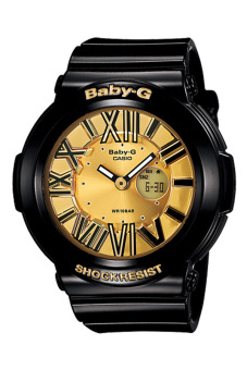 Casio Baby-G Women's BLACK Resin Strap Watch BGA-160-1B