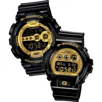 Casio G-Shock Couple Black Resin Strap Watch GD-100GB-1 &DW-6900CB-1 Price Philippines