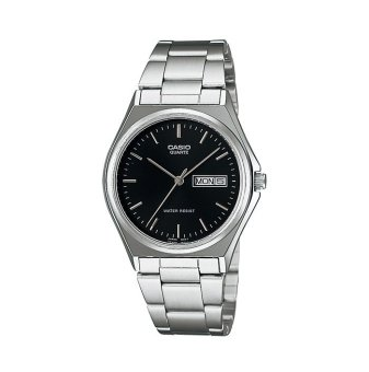 Casio Men's Silver Stainless steel strap Watch MTP-1240D-1ADF