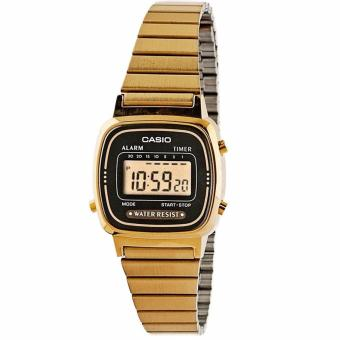Casio Vintage Women's Gold Stainless Steel Band Watch LA670WGA-1D