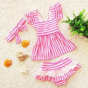 Children Swimsuit Separate Kids Girl Swimwear Mermaid Swimsuit for Kids Baby Girl Bikini Toddler Girls Bathing