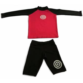 Combi blue/black Rash Guard for Boys