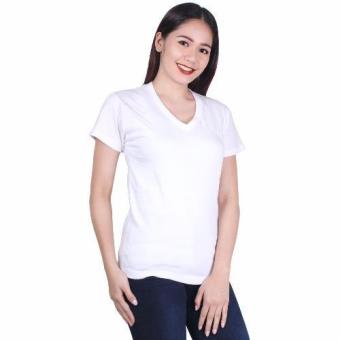 Cotton Republic V-Neck Shirt (White)