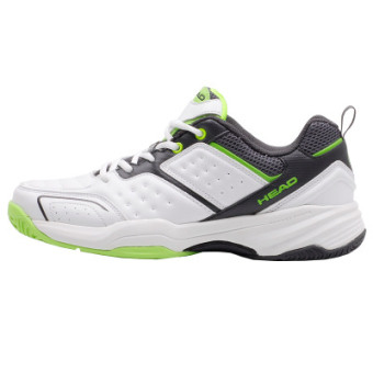 Cushion Damping Tennis Sneakers (White/green)