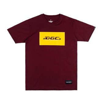 DAILY GRIND Express T-shirt (Maroon)