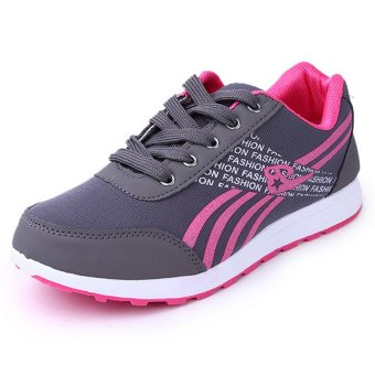 D&D Women's Sports Running Shoes Fashion Student Shoes JZ-A-2(Grey)