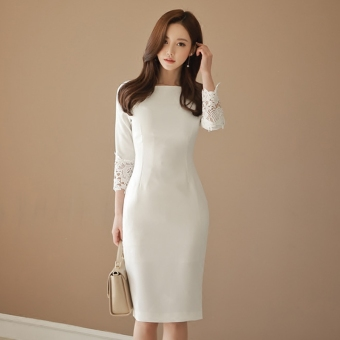 Debutante sexy spring Women's New style one-piece dress
