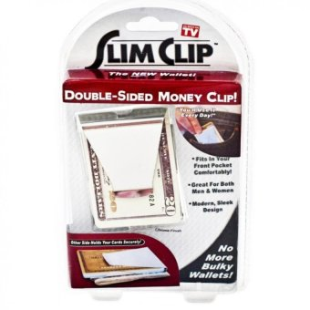 Double Sided Slim Clip Money Clip