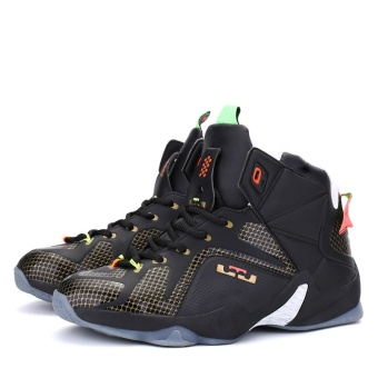 Easy Mouse 2017 New Arrivals Lebron James Shoes Men and Women Beginner Basketball Shoes Outdoor Sports Shoes Basketball Boots - intl