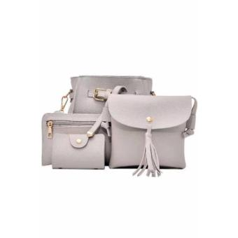 Elena 0011 Premium Bag Set (Grey)