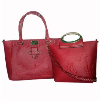 Elena 12102 Premium Bag Set (Red)