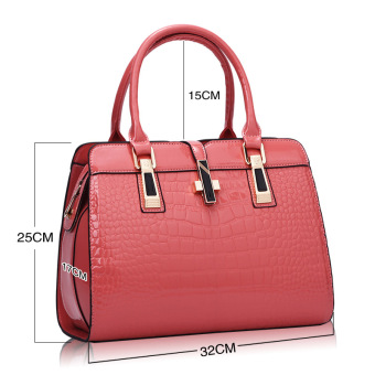 European and American female New style winter mommy bag (Pink)