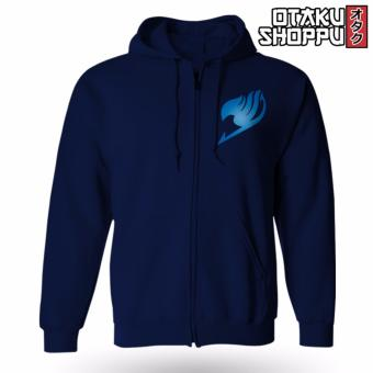 Fairy Tail Zip-Up Outdoor Hoodie Jacket (Navy Blue) Price Philippines