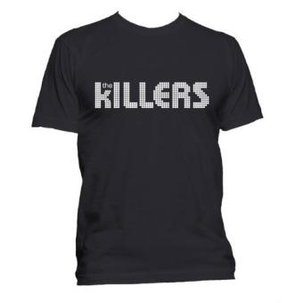 Fan Arena Band Series Silver The Killers Inspired T-shirt (Black)