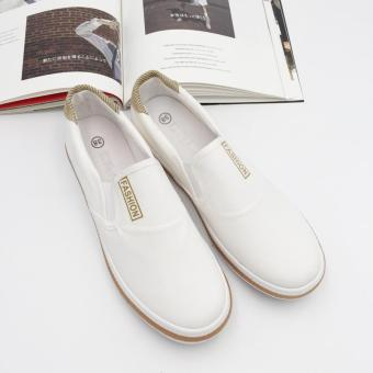 Fantasy Ladies Fashion Flat Slip-on Shoes 770 (white) Price Philippines