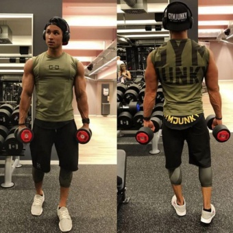2016 New Fitness Compression Shirt Men Superman Bodybuilding Long .