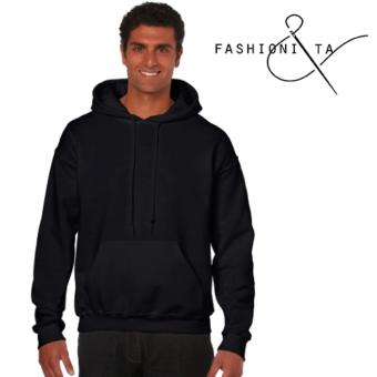 Fashionista 1989 Plain Black Hoodie Jacket