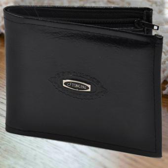 Fashionista Tongpai Leather Wallet (Black)