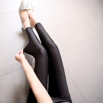 Female outerwear autumn stretch pants leggings (Ankle-length)