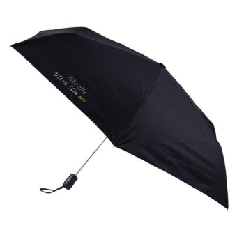 Fibrella UltraSlim Automatic Umbrella F00390 (Black)