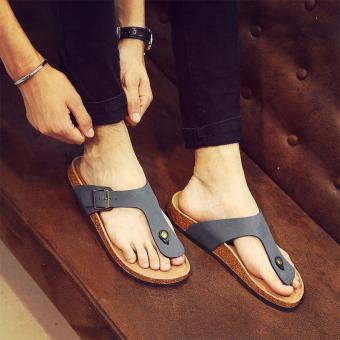 man New style men slippers 102 blue
