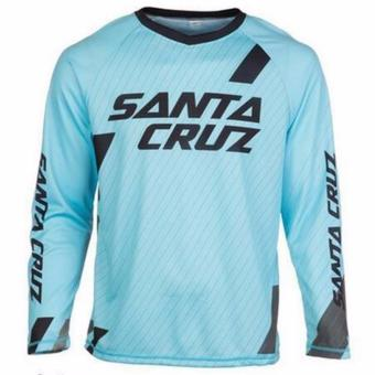 Fortress Cycling Mountain Bike Long Sleeve Jersey (Lightblue)