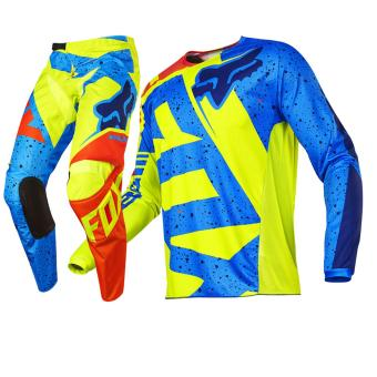 Fortress Motocross Downhill MTB Long Sleeve Long Pants Set Racing OEM (M#1)