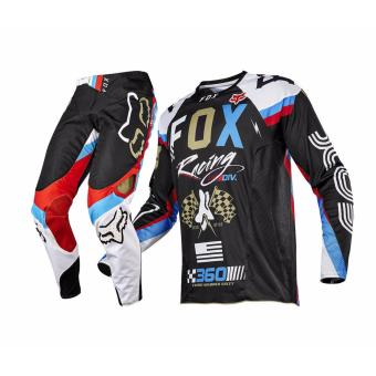 Fortress Motocross Downhill MTB Long Sleeve Long Pants Set Racing OEM (M#6)