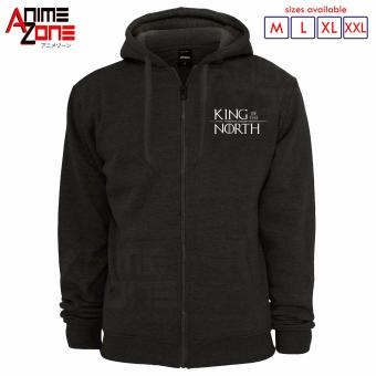 Game of Thrones King of the North Hoodie Jacket (Grey) Price Philippines