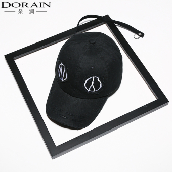 GD celebrity inspired grimace baseball cap (Black)