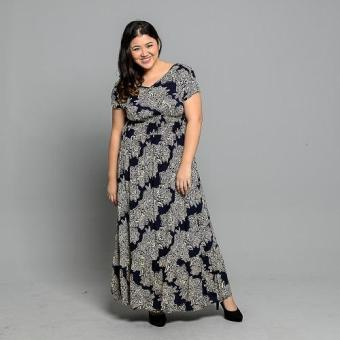 Get Laud Plus PD Dixee Maxi Dress (Blue) Price Philippines