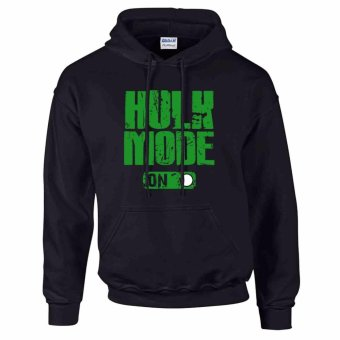 iGPrints Hulk Mode On Marvel Superheroes The Hulk Avengers Hoodie Jacket Black