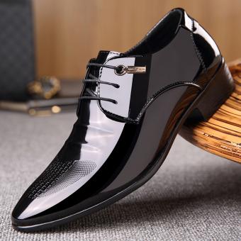 The British Leather nan xiu xian Men shoes business casual leather shoes 99733 black 99733 black