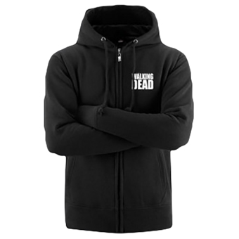 Hequ Fall and Winter The Wings Horn Hooded Hoodie Sweater JacketMen Black - intl