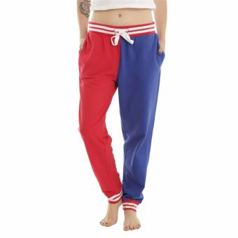 Hequ New Chic High Quality Suicide Squad Harley Quinn Property of Joker GIRLS JOGGER Spring & Autumn Hiphop cosplay casual pants women Christmas Red - intl
