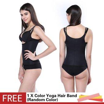 ae3dc907c1c Hot Shapers Neoprene Sauna Adjustable Sweat Vest Sheath Latex Waist Trainer  Cincher Women Body Shapers Slimming