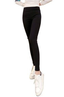 Hotyv Korean Fashion Women High Waist Skinny Long Pants HPT005 (Black)