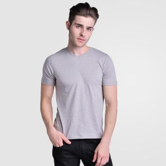 Huga Activewear Grey V-Neck Tee