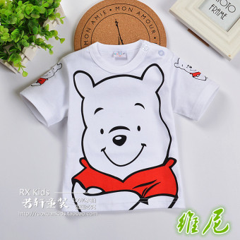 If the Xuan Korean-style New style girls boy's T-shirt (Whinnie the Pooh) (Whinnie the Pooh)