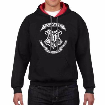 iGPrints HOGWARTS School of Witchcraft and Wizardry Contrast Hoodie Jacket Black Red