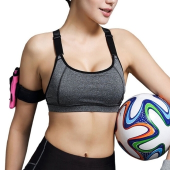 Women Yoga Sports Bra Fitness Running Gym Push Up Bra Vest Top Padded Bra Price Philippines