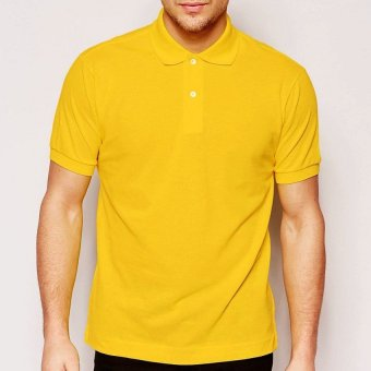 Harga Lifeline Polo Shirt (Gold Yellow)