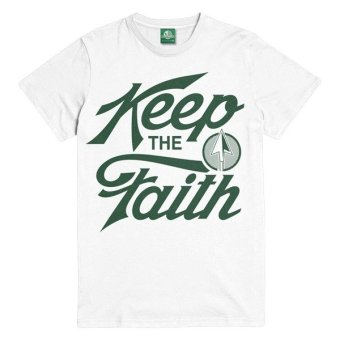 Keep the Faith T-Shirt (White) Price Philippines