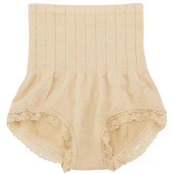 MUNAFIE Seamless Hip Abdomen Fat Burning Waist Slim Panties (Nude) Price Philippines