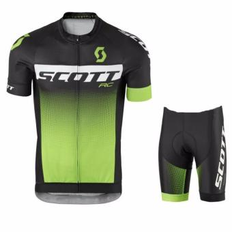 Harga Fortress Bike Cycling Lotto Jersey with Non Bib Short (SCOTTRC)