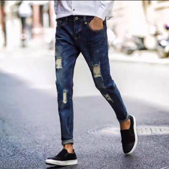 Men's Denim Tattred Fashion Jeans Price Philippines